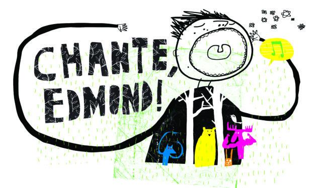 Chante, Edmond ! : le visuel
